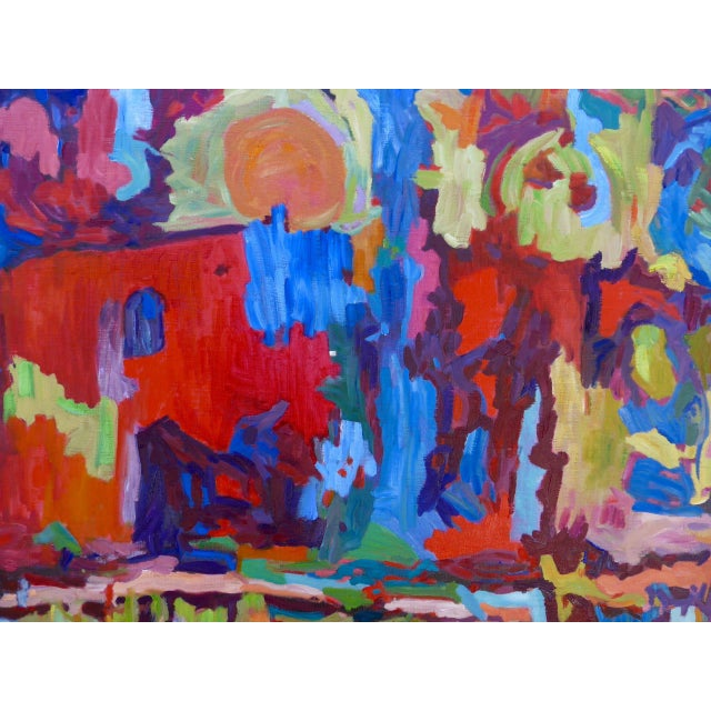 Monumental Abstract House Painting - Image 2 of 7