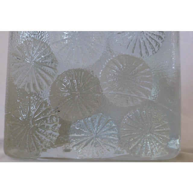 White Blenko Glass Paper Weight by Don Shepard For Sale - Image 8 of 13