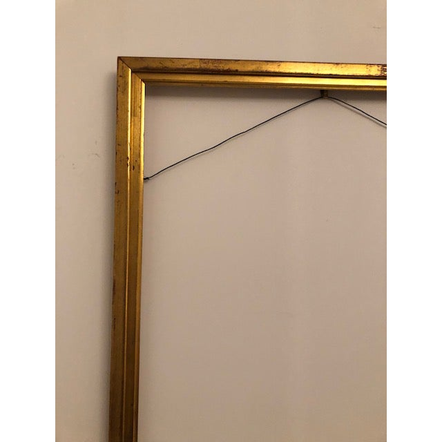 Antique Gold Leaf Gilded Wood Frame Chairish