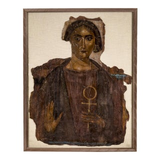 Funerary Shroud of an Elite Matron For Sale