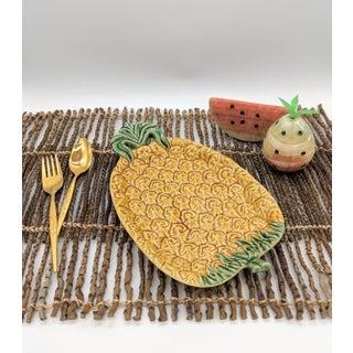 Bordallo Pinheiro Majolica Pineapple Platter Preview