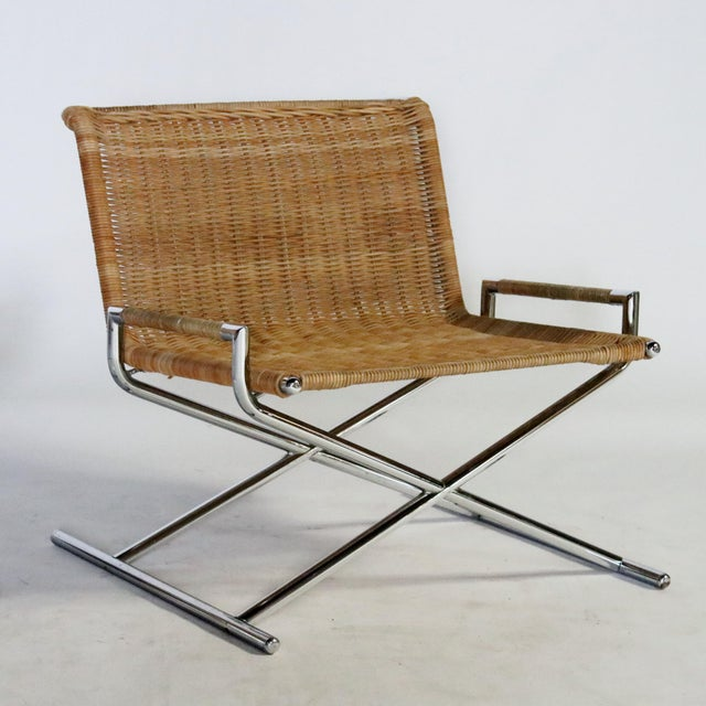 Ward Bennett Brickel Sled Chairs For Sale - Image 10 of 11