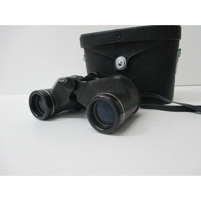 Vintage Pair of Belfont Binoculars BELFONT Binocular 7x35 1000yds In case with all the parts