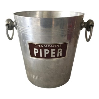Vintage Piper-Heidsieck French Champagne Bucket