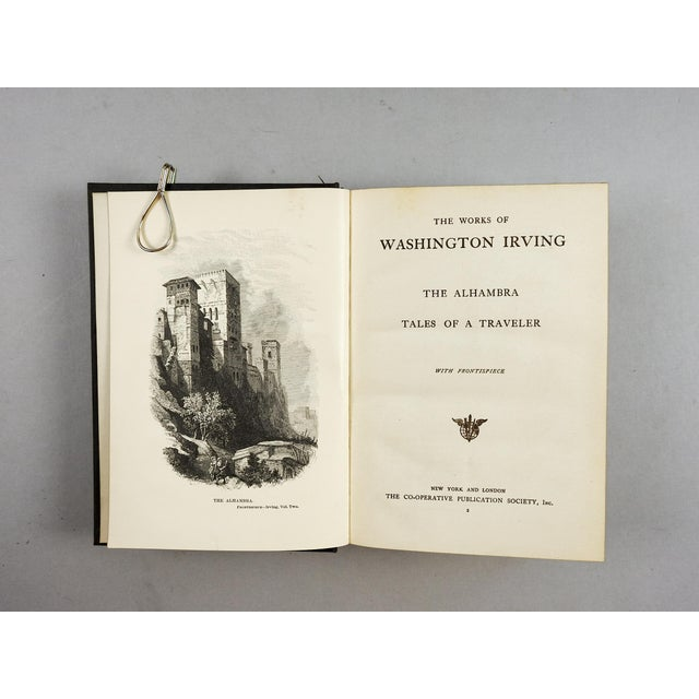 Works of Washington Irving Books - Set of 15 For Sale - Image 4 of 4