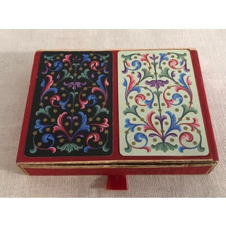 Vintage Double Playing Card Set Preview