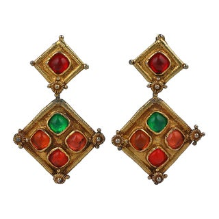 Christian LaCroix Moroccan Style Earring For Sale