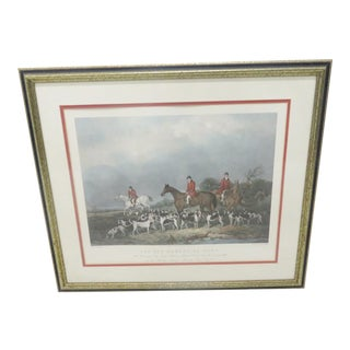 "John Goode ""The Old Berkshire Hunt"" Print"