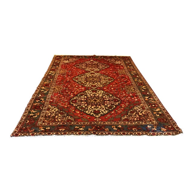 Large Hand Knotted Persian Rug - 6'11x10'0 - Image 1 of 11