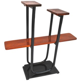 French Art Deco Etagere ( Shelf ) With Rose Wood For Sale