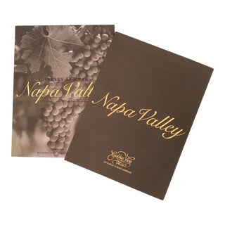 """Napa Valley"" Book With Foreword by Robert Mondavi"