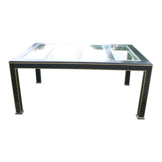 Chinoiserie Fretwork Dining Table For Sale