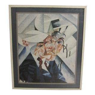 1916 Self Portrait Art Print by Gino Severini For Sale