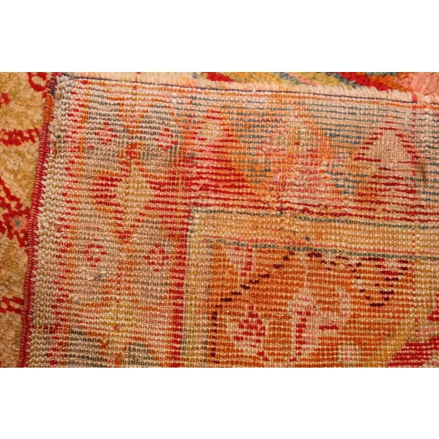 Antique Arts and Crafts Turkish Oushak Runner Rug - 2′10″ × 26′ For Sale - Image 4 of 10