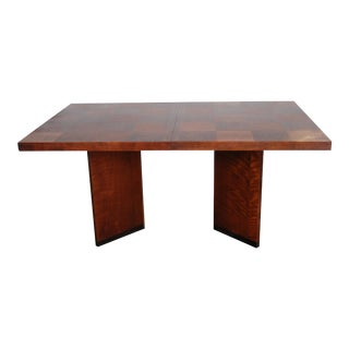 Lane Paul Evans Staccato Walnut Dining Table For Sale