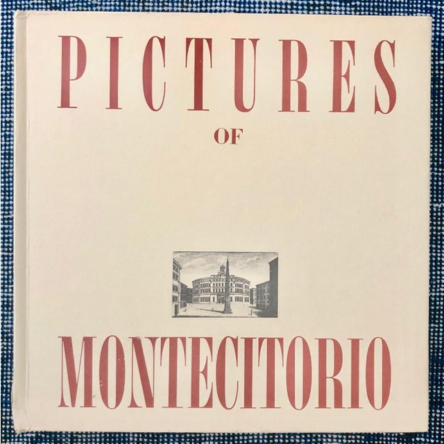 "1970 ""Pictures of Montecitorio"" Book, Italy For Sale - Image 11 of 12"