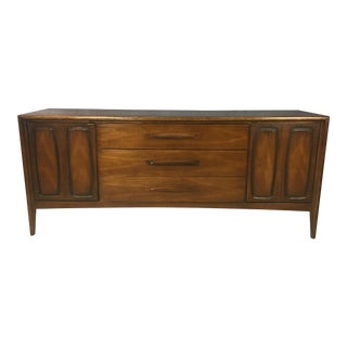 Broyhill Emphasis Walnut Lowboy Bureau