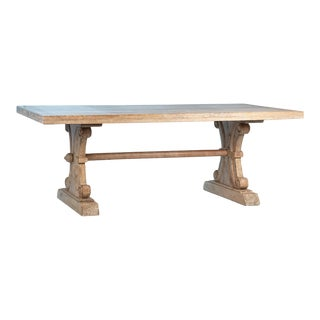 Carved Wood Dining Table For Sale