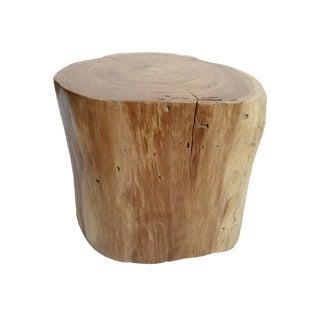 Java Teak Stump Table For Sale