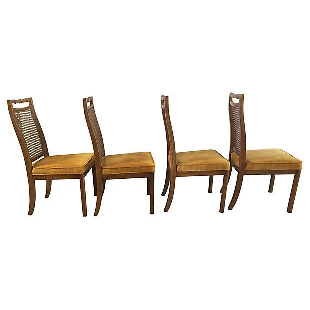 Heritage Faux Bamboo Dining Chairs - Set of 6 - Image 6 of 8