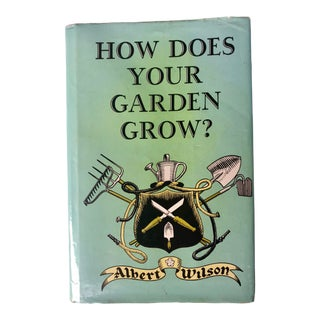 "1970s Americana ""How Does Your Garden Grow? For California by a Californian"" by Albert Wilson For Sale"
