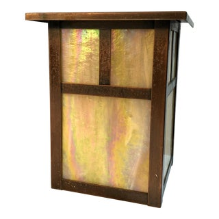 Arroyo Craftsman Outdoor Mission Style Wall Sconce Lantern For Sale