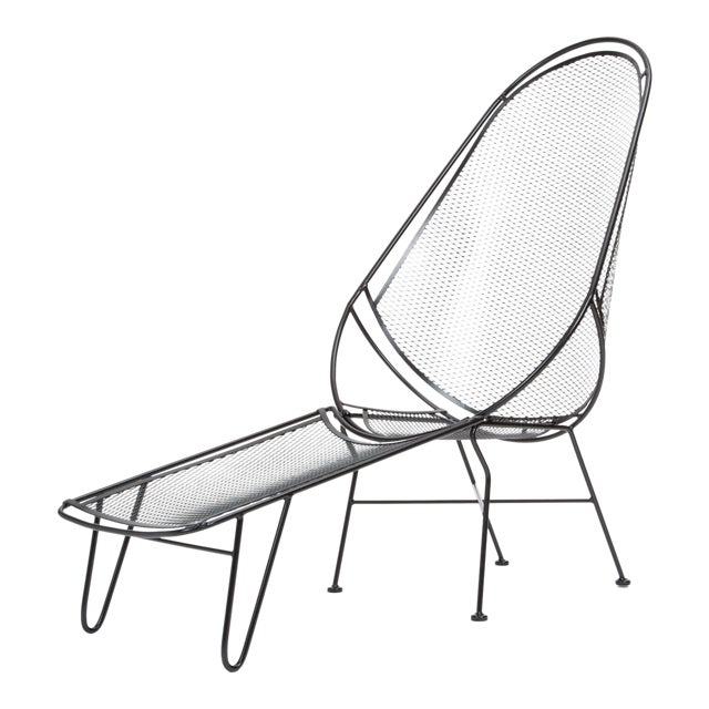 Scoop Lounge Chair With Ottoman by Maurizio Tempestini for Salterini For Sale