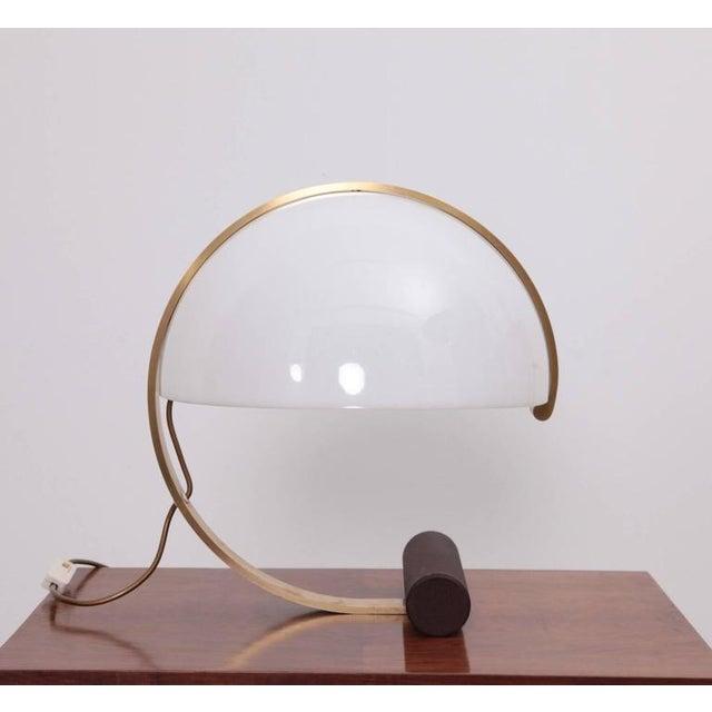 Mid-Century Modern Rare Mid-Century Italian Table Desk Lamp by Harvey Guzzini For Sale - Image 3 of 4