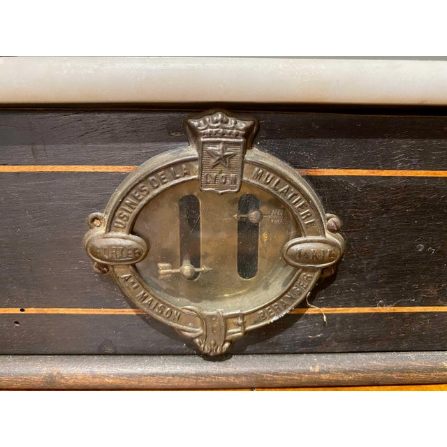 Late 19th Century Late 19th Century Napoleon III Marble Balance Scale For Sale - Image 5 of 7