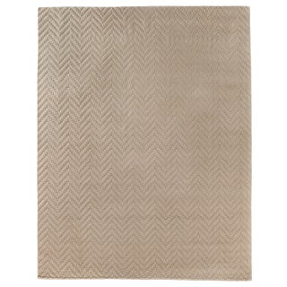 Exquisite Rugs Sutton Hand loom Wool Linen Rug-6'x9' For Sale