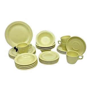 Vintage Boontonware Dinnerware - Service For 4 For Sale