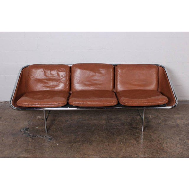 Mid-Century Modern Pair of Sling Sofas by George Nelson For Sale - Image 3 of 10