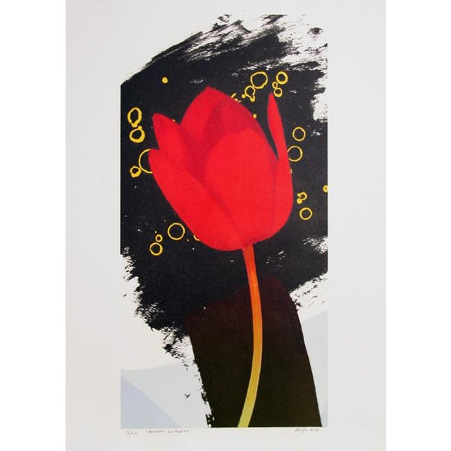 Contemporary Michael Knigin, Perfect Witness, Lithograph For Sale - Image 3 of 3