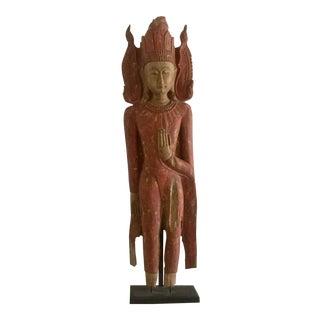 Vintage Cambodian Sculpture For Sale