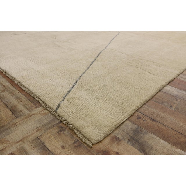 Contemporary Moroccan Area Rug With Modern Style - 10'03 X 13'07 For Sale In Dallas - Image 6 of 10