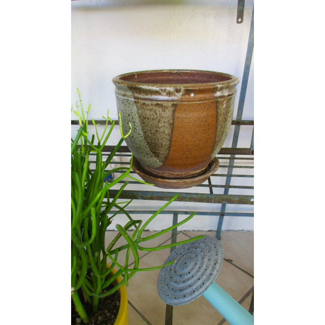 Robert Maxwell Style Glazed Planter For Sale In Phoenix - Image 6 of 9