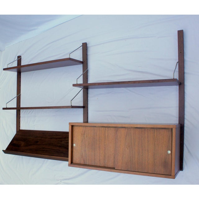 1960s Vintage Poul Cadovius Cado Royal System Wall Unit For Sale In Washington DC - Image 6 of 6