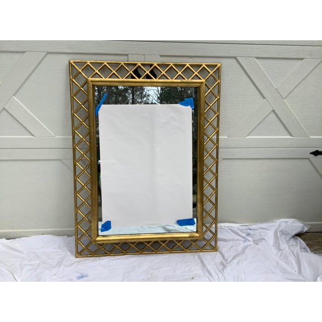 Regency Style Gilt Wood Mirror For Sale - Image 9 of 10
