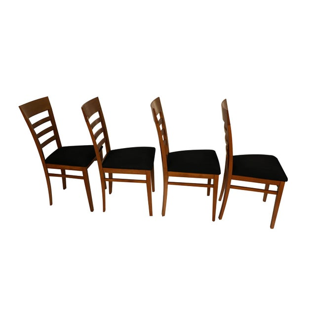 Four A. Sibau Italian Vintage Dining Room Chairs For Sale In Baltimore - Image 6 of 13