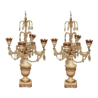 Girandole Candelabras Pair For Sale