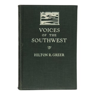 Voices of the Southwest: A Book of Texan Verse For Sale