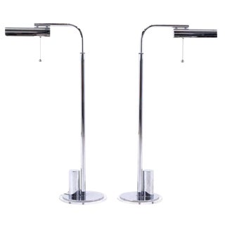 Pair of Charles Hollis Jones, for Lucille Ball Floor Lamps For Sale