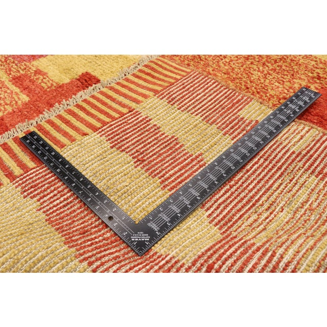 2010s Moroccan Contemporary Rug - 09'11 X 13'11 For Sale - Image 5 of 10