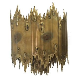 Vintage Tom Greene Brutalist Chandelier