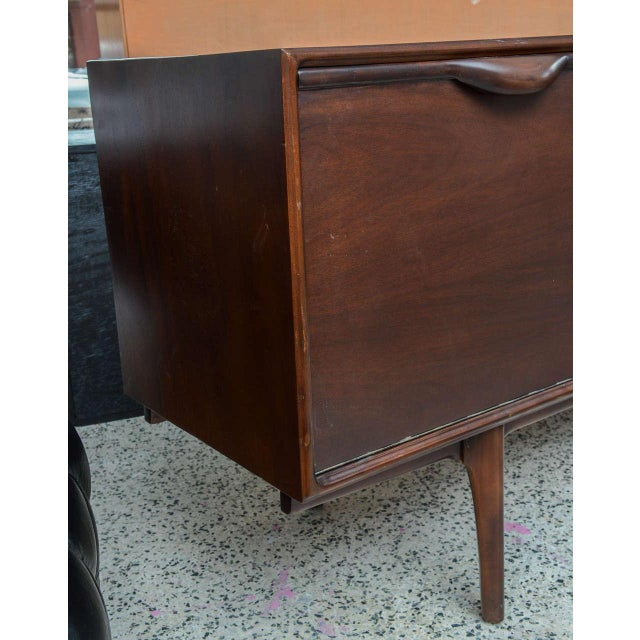 Brazilian Mahogany Credenza or Buffet, 1960s, Brazil For Sale - Image 4 of 7