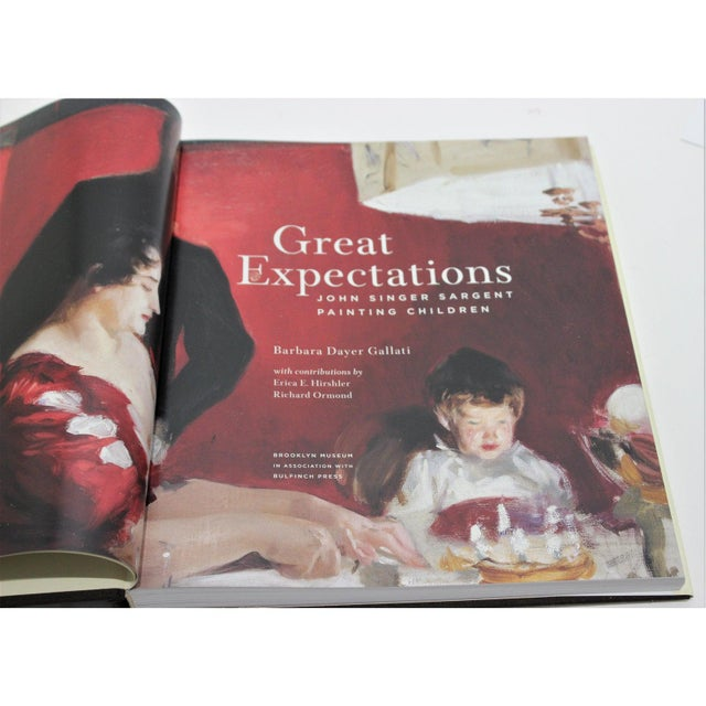 """Great Expectations"" John Singer Sargent Brooklyn Museum Book and Signature Blue Museum Printed Bag For Sale - Image 10 of 12"