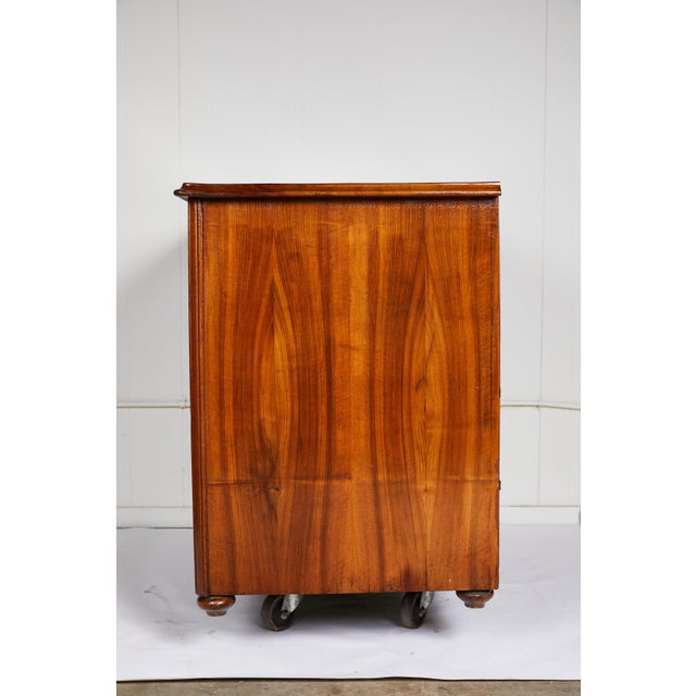 Large 19th Century Biedermeier Commode of Rosewood For Sale - Image 12 of 13