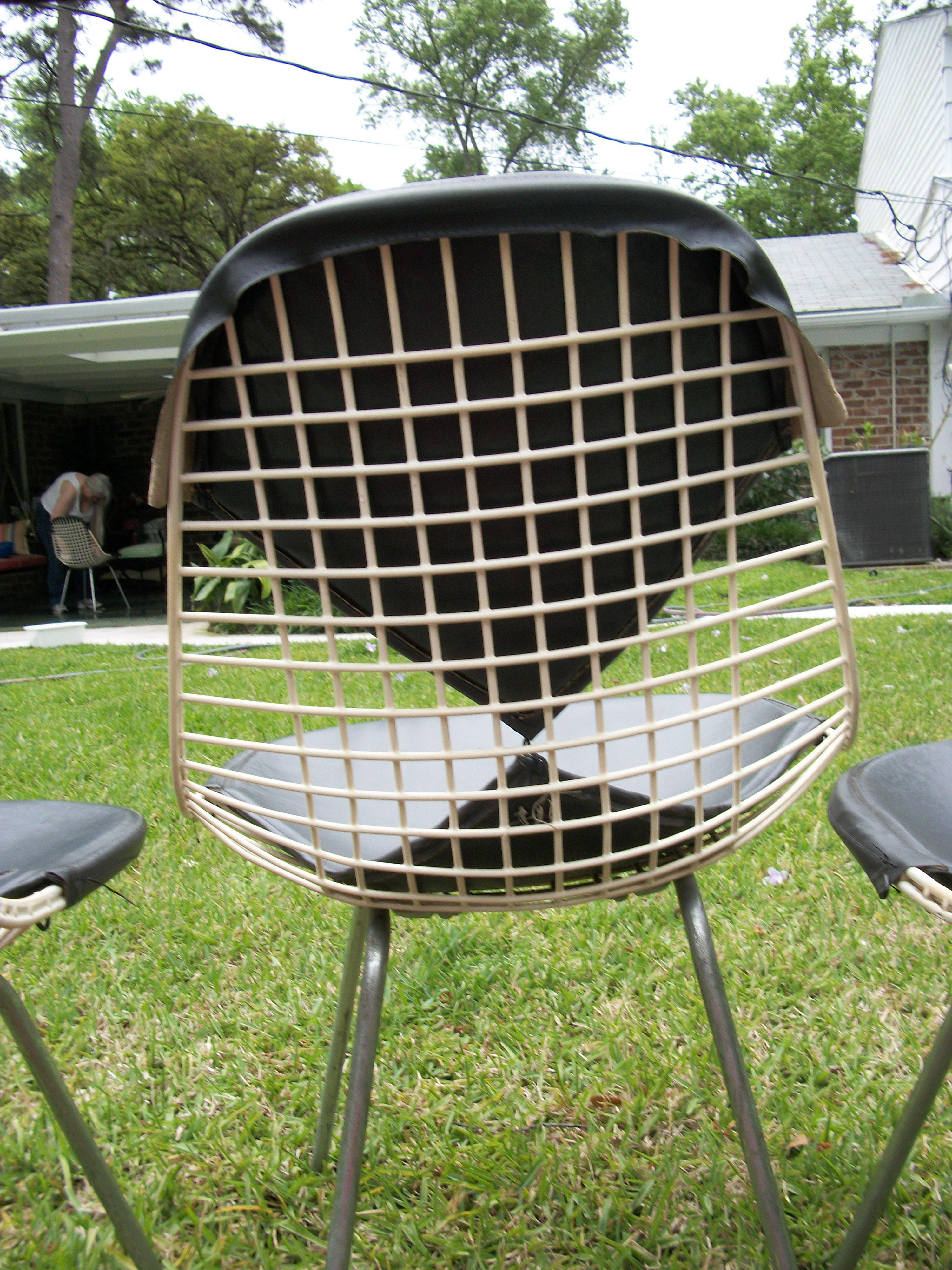 Exceptionnel Herman Miller Mid Century Modern Eames For Herman Miller Bikini Wire Chairs    Set Of