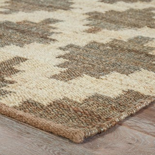 Jaipur Living Souk Natural Trellis Gray & White Area Rug - 9' X 12' Preview