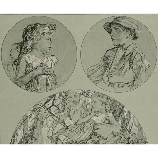 Alphonse Mucha 1900s Vintage Alphonse Mucha Poster For Sale - Image 4 of 7